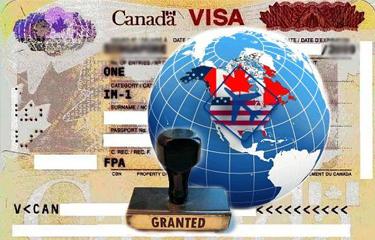加拿大临时居留签证